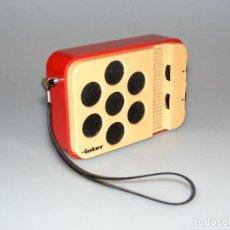 Radios antiguas: RADIO TRANSISTOR (AM) INTER E-144 - CON FUNDA ORIGINAL - PARA REPARAR. Lote 278229493