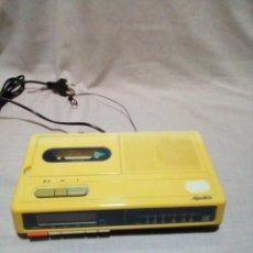 Radios antiguas: RADIO-CASSETTE-ALARMA MARCA SUPERTECH. Lote 278390783