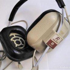 Radios antiguas: AURICULARES REVOX VINTAGE, AÑOS 1970. Lote 278575788