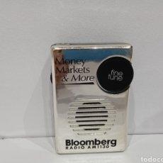 Radios antiguas: RADIO TRANSISTOR BLOMBERG. Lote 279549668