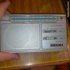Radios antiguas: RADIO OSAIMA - PARA PUESTA A PUNTO O PARA PIEZAS. Lote 280110938