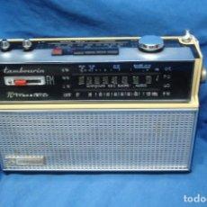 Radios antiguas: ANTIGUA RADIO A TRANSISTORES SCHNEIDER MDLO. TAMBOURIN - 10 TRANSISTORES- ÚNICA EN LA WEB. Lote 280111313