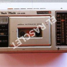 Radios antiguas: ANTIGUO RADIO CASSETTE MARCA - FAIR - ESTEREO - FUNCIONA A PILAS - 6 VOLTIOS -. Lote 280400943