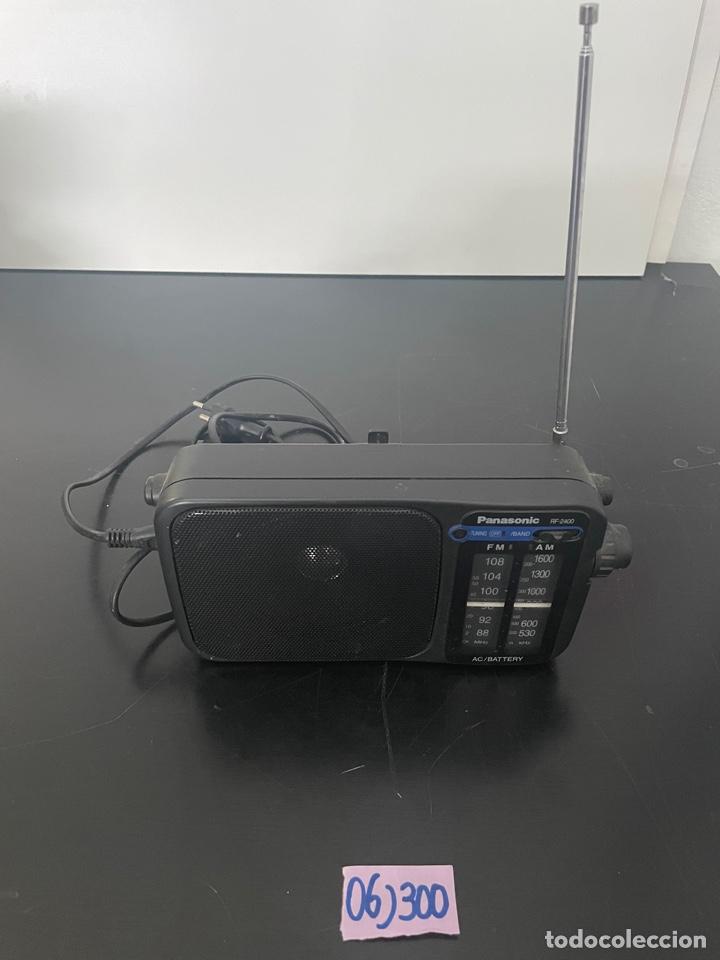 RADIO ANTIGUA PANASONIC (Radios, Gramófonos, Grabadoras y Otros - Transistores, Pick-ups y Otros)
