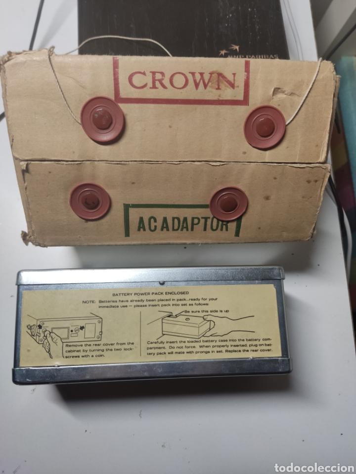 Radios antiguas: ADAPTADOR CROWN PARA MICRO TV model TAD 2 Japan - Foto 3 - 281840363