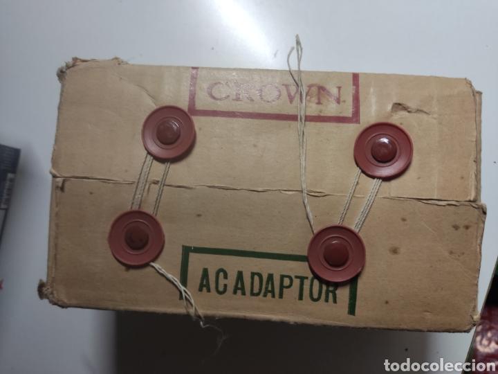 Radios antiguas: ADAPTADOR CROWN PARA MICRO TV model TAD 2 Japan - Foto 9 - 281840363