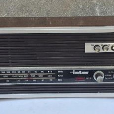 Radios antiguas: RADIO INTER EUROMODUL 70 SPAIN. Lote 281936493