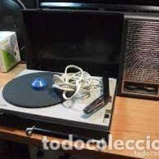 Rádios antigos: TOCADISCOS PHILIPS 110 PORTATIL CORRIENTE Y PILAS PEPETO ELECTRONICA VER FOTOS Y VIDEO. Lote 283103888