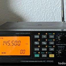Radios antiguas: RADIO ICOM R100 FUNCIONANDO. Lote 283180098
