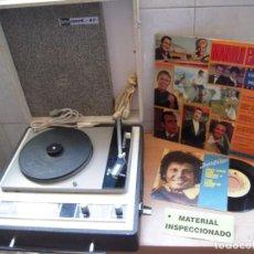 Radios Anciennes: ENVIO 8€ TOCADISCOS BETTOR MARK 42 RETRO & VINTAGE,AÑOS 70.REVISADO Y FUNCIONANDO.. Lote 283457468