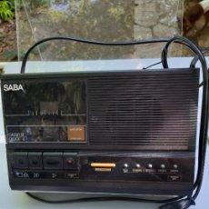 Radios Anciennes: OFERTA RADIOCASSETTE SABA A PRECIO SIMBÓLICO , HAY QUE ARREGLAR EL CASSETTE. Lote 284524238