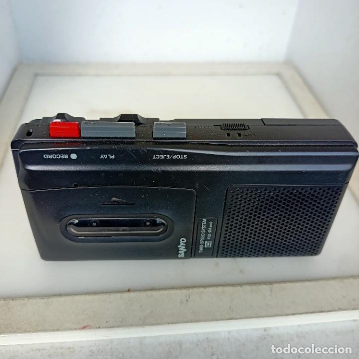 Radios antiguas: SANYO model trc 510 m Micro Cassette Tape Recorder funcionando - Foto 2 - 284733523