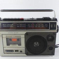 Radios antiguas: RADIO CASSET SANYO M 2564 FZ. Lote 284811728