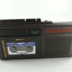 Radios antiguas: GRABADORA DE VOZ OLYMPUS, PEARLCORDER L100,. Lote 284811873