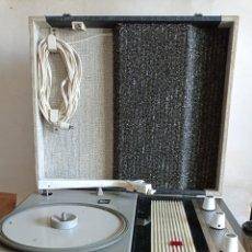 Rádios antigos: ANTIGUO TOCADISCOS / MARCA PERPETUUM - EBNER / AÑOS - 60. Lote 285554563