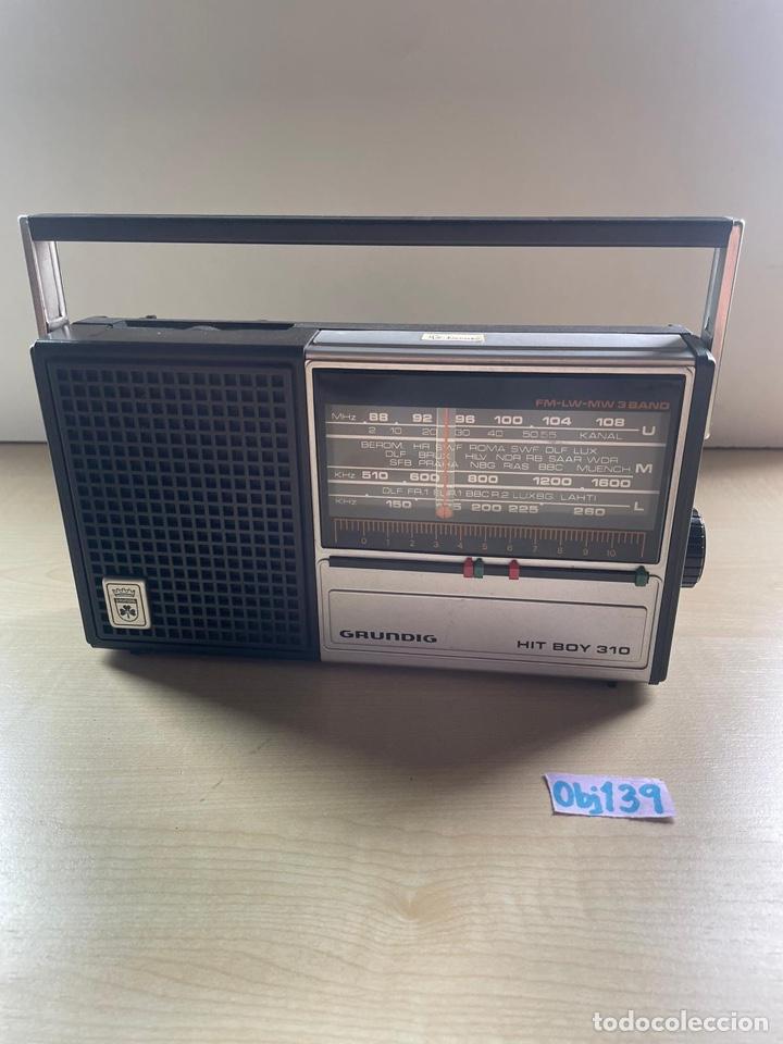 RADIO GRUNDIG HIT BOY 310 VINTAGE (Radios, Gramófonos, Grabadoras y Otros - Transistores, Pick-ups y Otros)