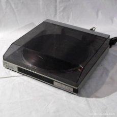 Radios antiguas: TOCADISCOS PLATO AUREX TOSHIBA SR-V50, FUNCIONANDO. Lote 286197988