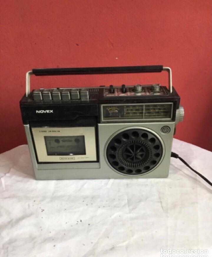 RADIO CASSETTE NOVEX MODELO RC 9100 . VER FOTOS (Radios, Gramófonos, Grabadoras y Otros - Transistores, Pick-ups y Otros)