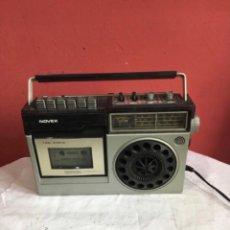 Radios antiguas: RADIO CASSETTE NOVEX MODELO RC 9100 . VER FOTOS. Lote 286313018