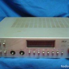 Radios Anciennes: AMPLIFICADOR AKAI MDLO. AM - U55. Lote 286358823