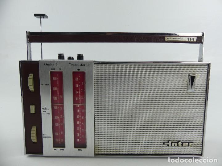 VINTAGE RADIO TRANSISTOR VINTAGE INTER EUROMODUL 114 (Radios, Gramófonos, Grabadoras y Otros - Transistores, Pick-ups y Otros)