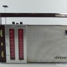 Radios antiguas: VINTAGE RADIO TRANSISTOR VINTAGE INTER EUROMODUL 114. Lote 286467613