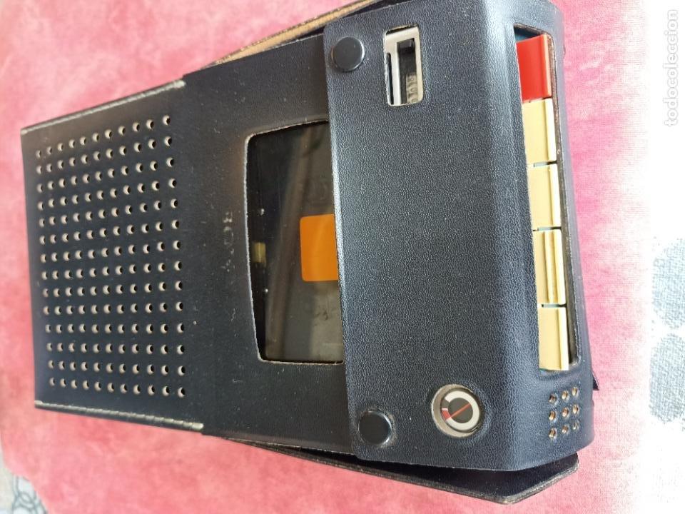 VINTAGE SONY TC-110B CASSETTE RECORDER EN SU FUNDA COMO NUEVO FUNCIONANDO GRABADORA CINTAS ALTAVOZ (Radios, Gramófonos, Grabadoras y Otros - Transistores, Pick-ups y Otros)