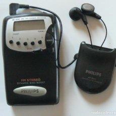 Radios antiguas: RADIO TRANSISTOR FM STEREO PHILIPS. DYNAMIC BASS BOOST.. Lote 287020338