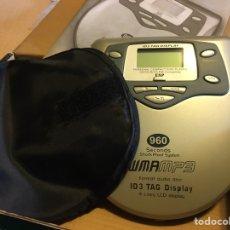Radios antiguas: WALKMAN REPRODUCTOR DE CD Y MP3 CON SU CAJA ORIGINAL. Lote 287044958
