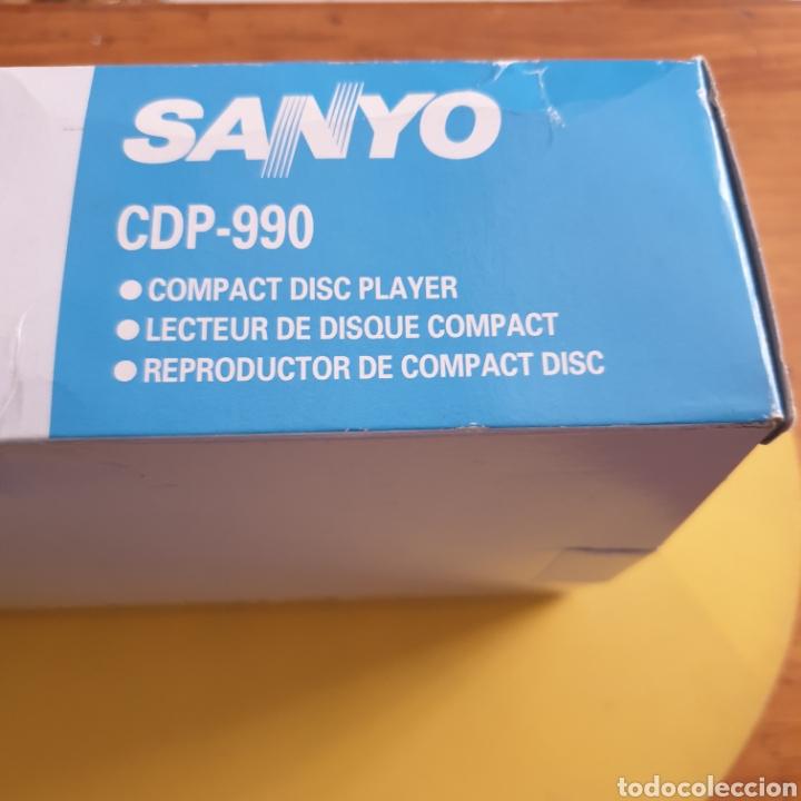 Radios antiguas: COMPACT DISC PLAYER SANYO CDP-990 MADE IN JAPÓN - Foto 4 - 287585238