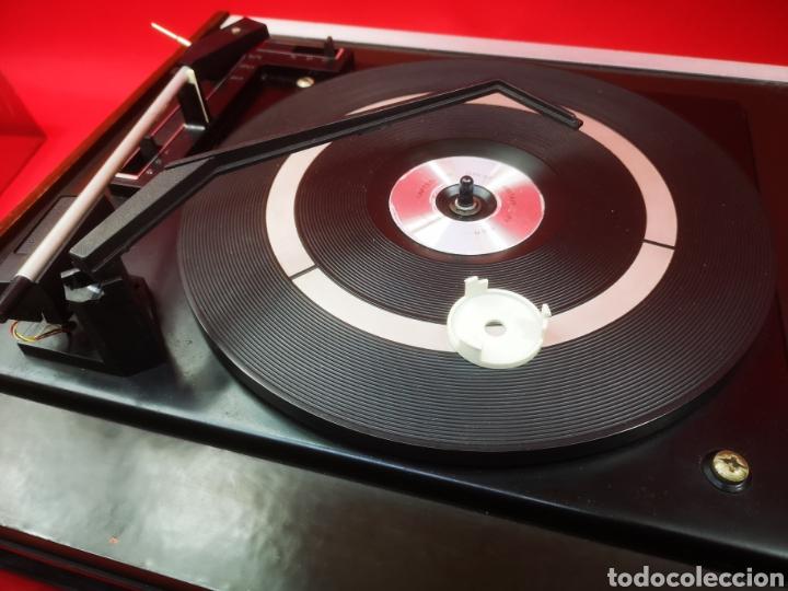 Radios antiguas: Tocadiscos vintage Koniger años 60 - Foto 8 - 287665213
