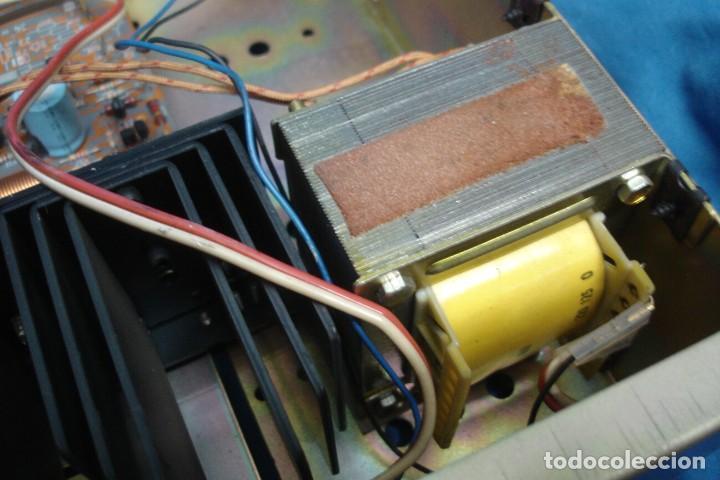 Radios antiguas: AMPLIFICADOR/ ETAPA DE POTENCIA MARCA CESVA MDLO. ET-100 - MADE IN SPAIN - Foto 12 - 287672938