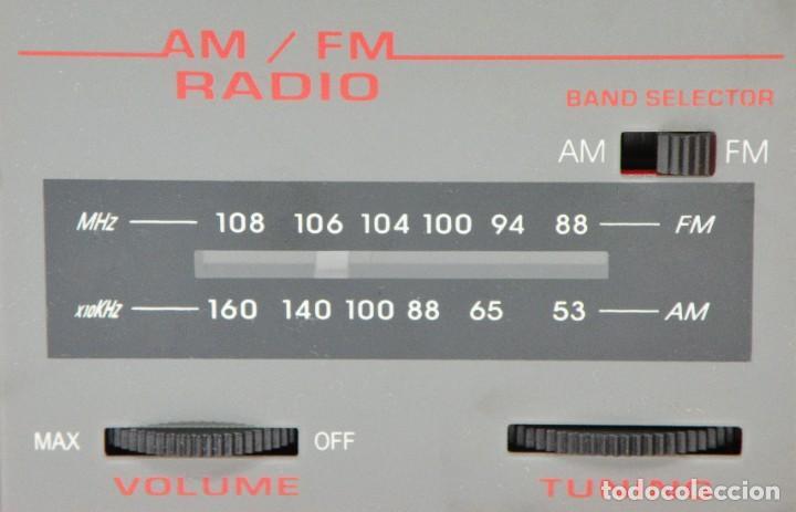 Radios antiguas: RADIO DESPERTADOR. NEVERA VINTAGE Y ESTACIÓN METEOROLÓGICA. NUEVA - Foto 7 - 287692648