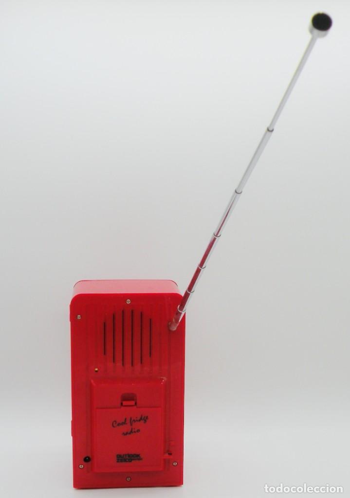 Radios antiguas: RADIO DESPERTADOR. NEVERA VINTAGE Y ESTACIÓN METEOROLÓGICA. NUEVA - Foto 9 - 287692648
