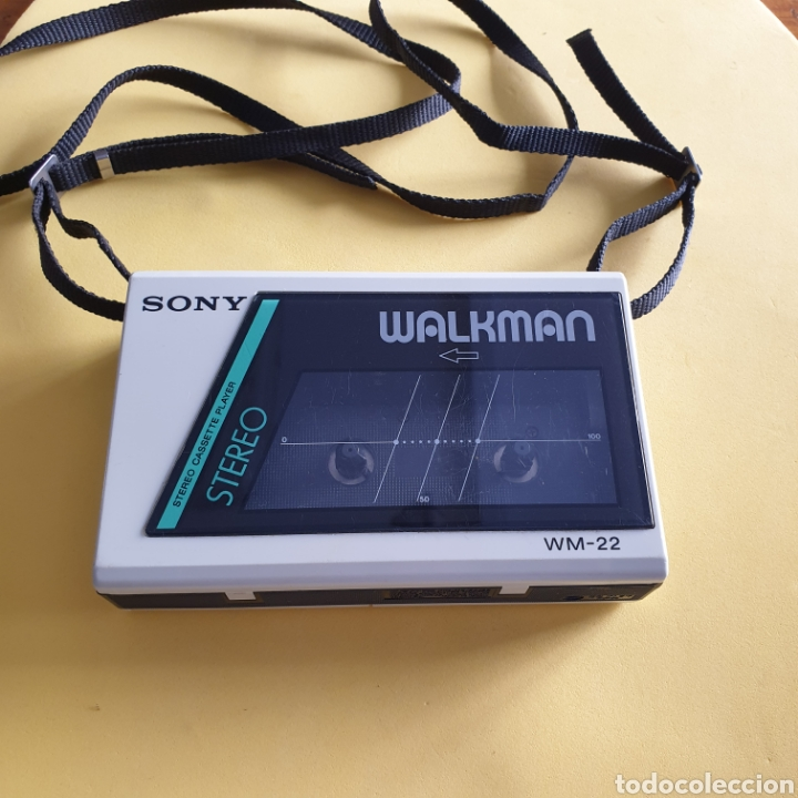 SONY WALKMAN WM-22 FUNCIONANDO (Radios, Gramófonos, Grabadoras y Otros - Transistores, Pick-ups y Otros)