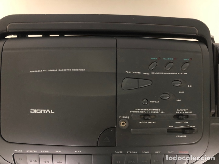Radios antiguas: CD Radio casset Supertech - Foto 3 - 287781188