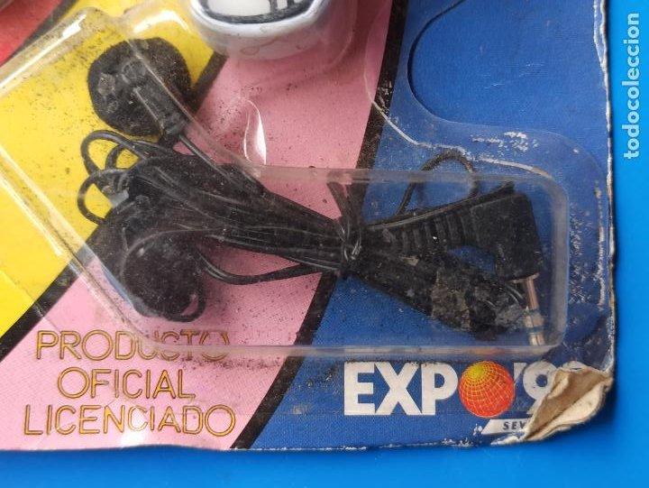 Radios antiguas: RADIO CURRO EXPO 92 DE SEVILLA NUEVO U PRECINTADO - Foto 5 - 287793293
