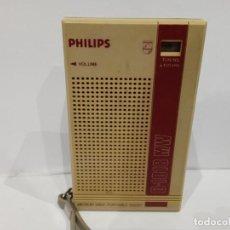 Radios antiguas: RADIO TRANSISTOR PHILIPS D1018. Lote 287862263