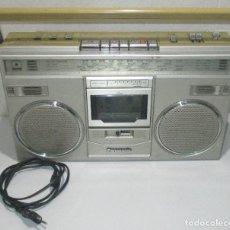 Radios antiguas: RADIOCASSETTE RADIOCASETE BOOMBOX PANASONIC RX-5104L, NATIONAL PANASONIC DE ESPAÑA SA MADE IN SPAIN. Lote 288078093