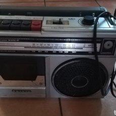Radios antiguas: ANTIGUO RADIOCASETE SANYO UNA PLETINA FUNCIONA PERFECTAMENTE. Lote 288106033