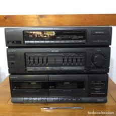 Radios antiguas: EQUIPO SONY ESTÉREO HST-D201.. Lote 288355973