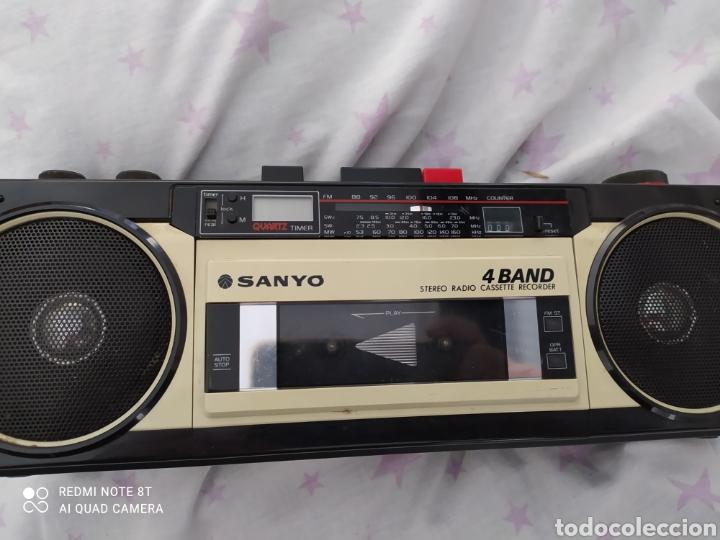 ORIGINAL RADIO CASSETTE SANYO M-S350K PARA REVISAR (Radios, Gramófonos, Grabadoras y Otros - Transistores, Pick-ups y Otros)