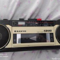 Radios antiguas: ORIGINAL RADIO CASSETTE SANYO M-S350K PARA REVISAR. Lote 288357223