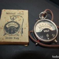 Radios antiguas: MODELL 1927 12/120 RADIO VOLTMETER BOXED VINTAGE. Lote 288647048
