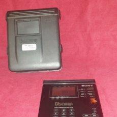 Radios Anciennes: ANTIGUO DISCMAN DE SONY - D - 350 - INCLUYE FUNDA DE SONY - GRAN PANTALLA - SIN PROBAR. Lote 288743693