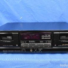 Radios antiguas: MODULO DOBLE PLETINA SHERWOODDD-4050C PARA REPARAR. Lote 289490608