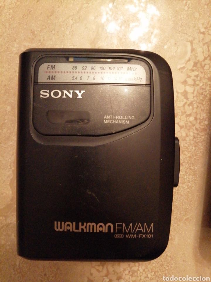 Radios antiguas: Lote de 3 Walkman SONY - Foto 3 - 289717053