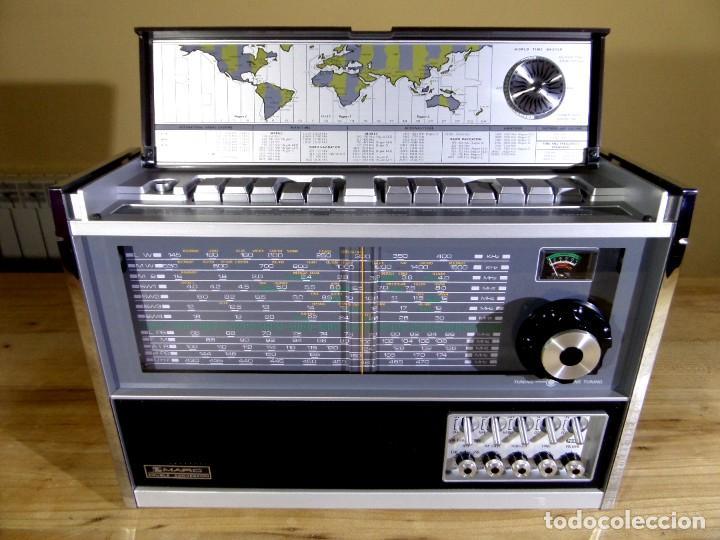 RADIO MARC NR-52F1 MULTIBANDA DOBLE CONVERSIÓN (Radios, Gramófonos, Grabadoras y Otros - Transistores, Pick-ups y Otros)