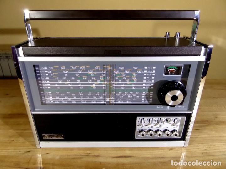 Radios antiguas: RADIO MARC NR-52F1 MULTIBANDA DOBLE CONVERSIÓN - Foto 2 - 289747008