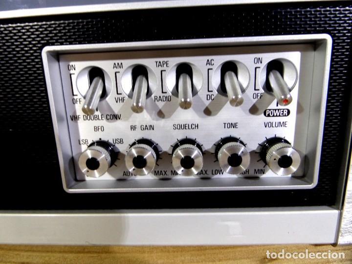 Radios antiguas: RADIO MARC NR-52F1 MULTIBANDA DOBLE CONVERSIÓN - Foto 3 - 289747008